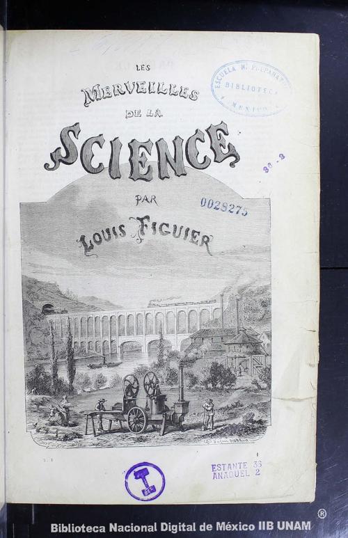 Imagen de Les merveilles de la science, ou, Description populaire des inventions modernes