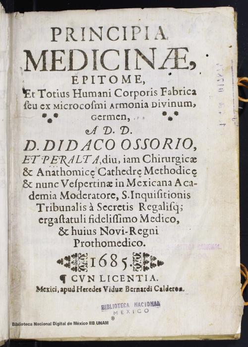 Imagen de Principia medicinae, epitome, et totius humani corporis fabrica seu exmicrocosmi armonia divinum, germen