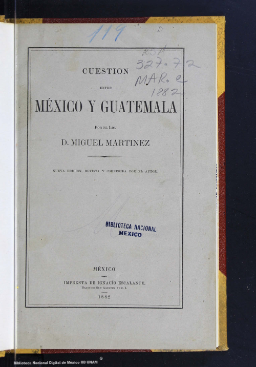 Imagen de Cuestión entre México y Guatemala