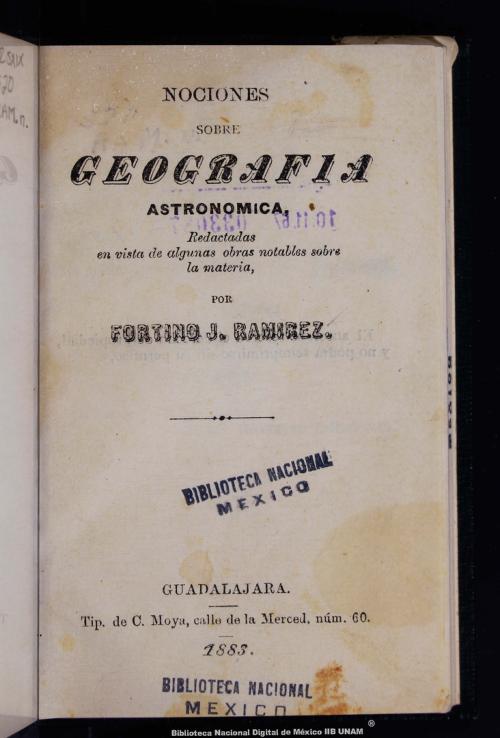 Imagen de Nociones sobre geografía astronómica, redactadas en vista de algunas obras notables sobre la materia