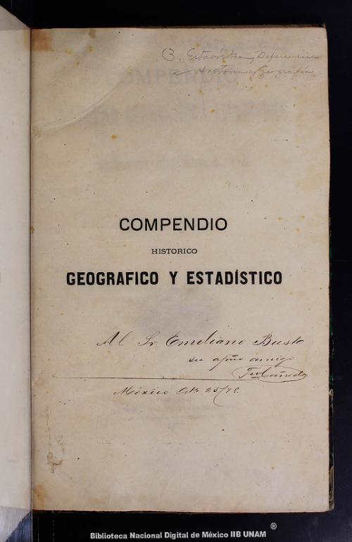 Imagen de Compendio histórico, geográfico y estadístico del Estado de Sinaloa