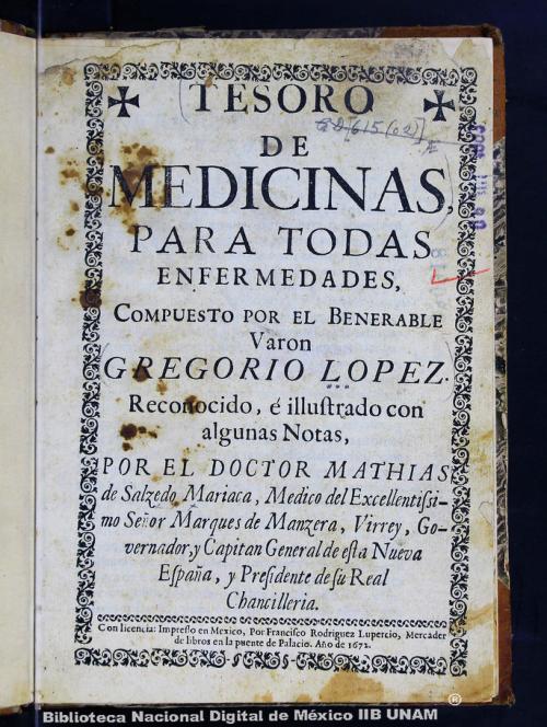 Imagen de Tesoro de medicinas, para todas enfermedades