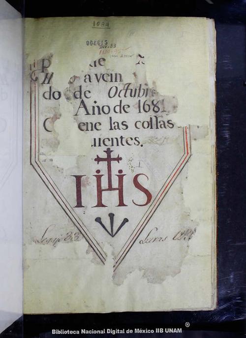 Imagen de Inventario y entradas de la casa profesa de la Compañía de Jesús de México
