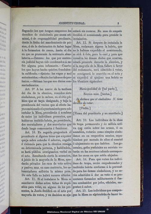 Imagen de Historia del primer congreso constitucional de la República Mexicana que funcionó en el año de 1857: extracto de todas las sesiones y documentos relativos de la época