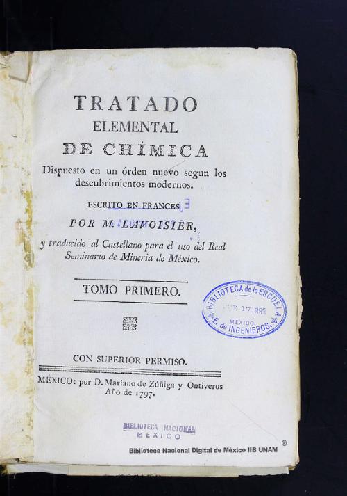 Imagen de Tratado elemental de Chímica: dispuesto en un órden nuevo segun los descubrimientos modernos