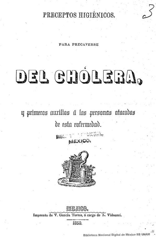 Imagen de Preceptos higiénicos para precaverse del cholera, y primeros auxilios á las personas atacadas por esta enfermedad