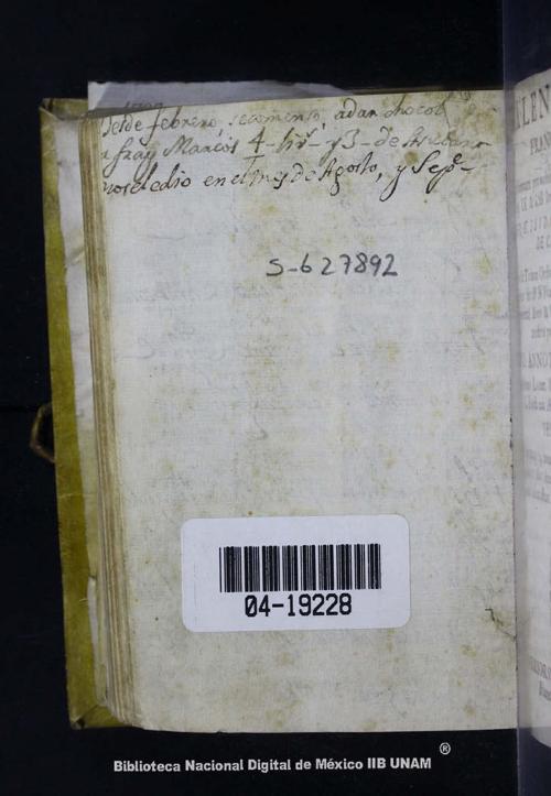 Imagen de Kalendarium Franciscanum ad formam, pro nobis antiquitus... pro anno domini 1712 bissextili